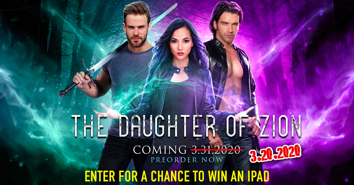 The Daughter of Zion a new novel from author Elicia Hyder