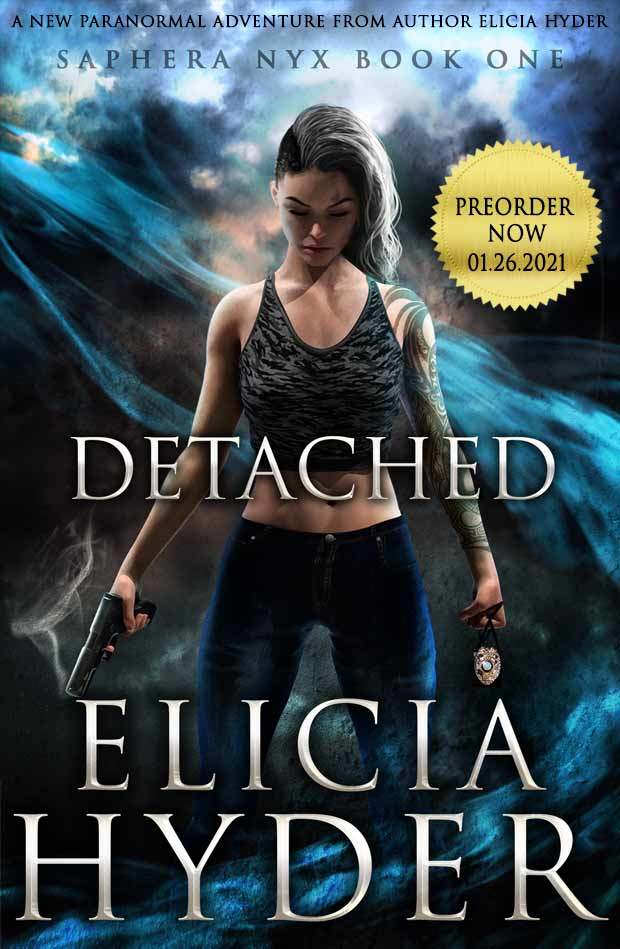 Detached a new paranormal series from author Elicia Hyder
